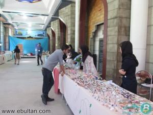 نمایشگاه خیریه جمعیت فرهنگی هنری رستاک